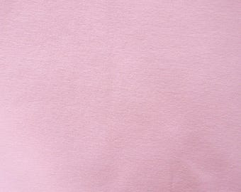 Fabric - Cotton/elastane rib fabric - 240gsm - Pink