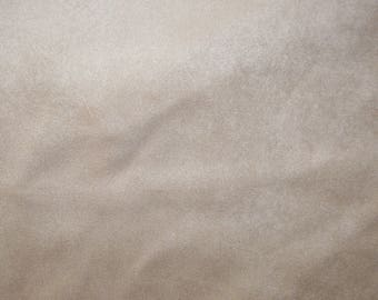 Fabric - Double sided faux suede - Beige