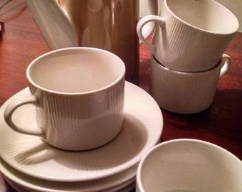 Retro chocolate set/Tea set/Coffee set/Mad Men/Vintage