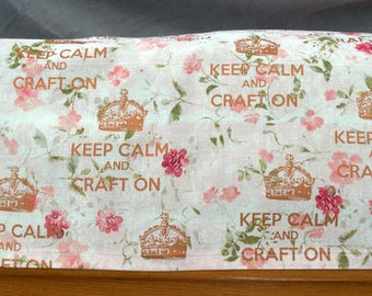 Brother Scan N Cut Dust Cover Keep Calm and Craft On
