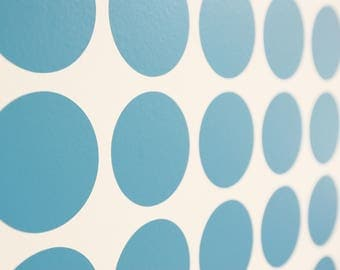 Polka Dot Spotty Vinyl Wall Art Decals/Stickers - Various Colours & Sizes