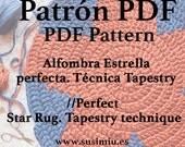 Patrón PDF Alfombra STAR en alta resolución : Diagrama y explicaciones