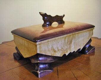 Pet Urn, Dog Urn, Wood Urn, Pet Cremation Urn, One Of A Kind