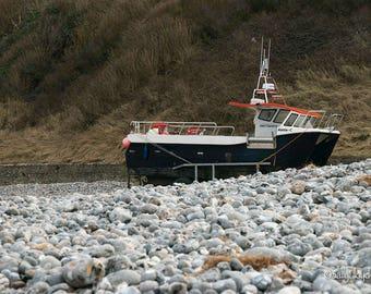 Sea of Pebbles Cromer UK - A4 Photo print.