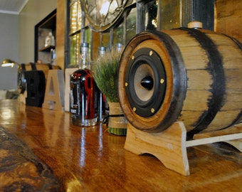 Whiskey Barrel Speakers