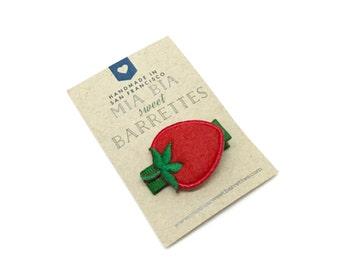 Strawberry Hair Clip Barrette
