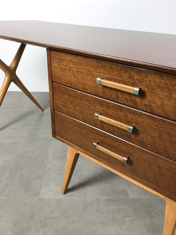 Renzo rutili for johnson furniture vintage partners desk for Meuble johnson