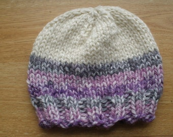 Purple Transition Beanie