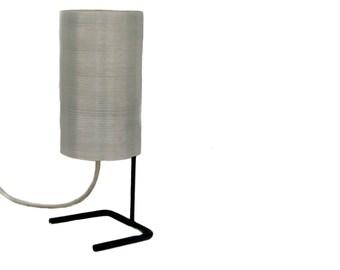 Minimalist table nightstand lamp 1950s