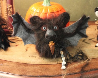 Pagan Wiccan Bat Poppet for Protection
