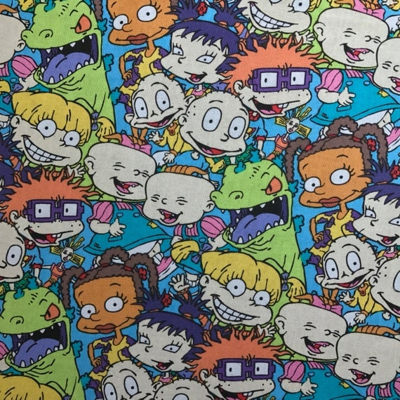 Rugrats Fold Over Clutch / Cross Body