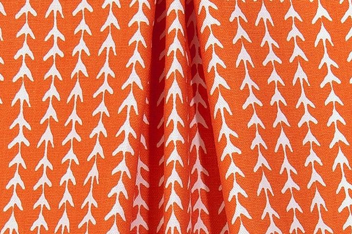 Home Decor Fabrics By The Yard: Orange Arrow Home Decor Fabric By The Yard Designer Drapery