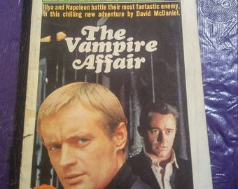 Vintage The Vampire Affair Paperback The Man from U.N.C.L.E. Number 6