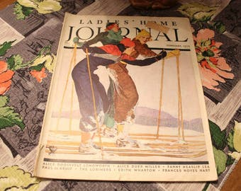 Complete Ladies Home Journal February 1934