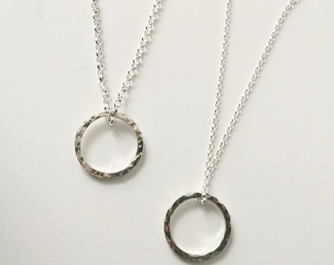 Add Heavier Silver Chain to any Firewhite Necklace