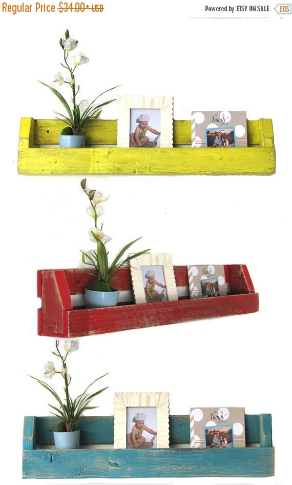 Sale single wall shelf for books decor and by - Decorative books for shelves ...
