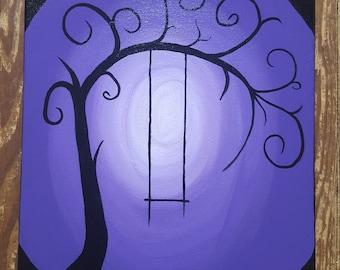 Wonderland Tree Painting