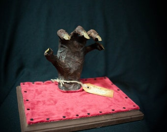 NEW item! Hand of Glory OOAK sculpture Harry Potter inspired