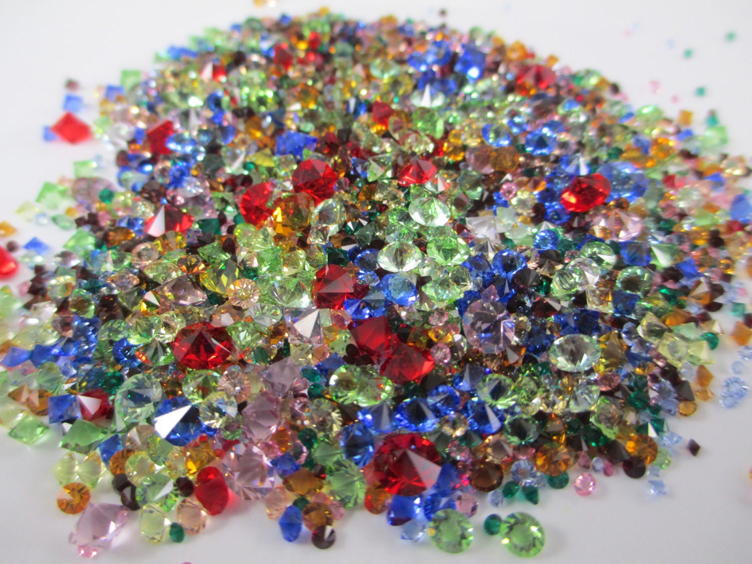 Rhinestone jewels for crafts - Sold By Hauntedlampvintage