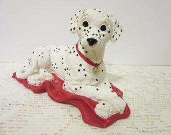 Sale Dogs Pets Dalmatian Figurine Enesco Home Decor Collectible Vintage