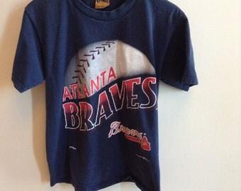 Vintage Atlanta Braves shirt - MEDIUM - 1995
