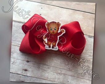Daniel Tiger Hair Bow