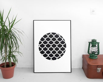 Black and White,  Printable Art, Home Decor, Wall Art, Modern Art, Scandinavian, Geometric, Black and White Art, Wall Prints, Wall Decor,Art
