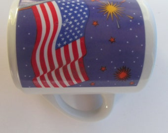 Stars and Stripes - red - white and - blue - Coffee Mug -