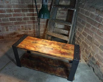 Industrial Rustic Television TV Stand