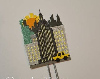 NYC with taxi planner clip, book mark, traveler planner clip