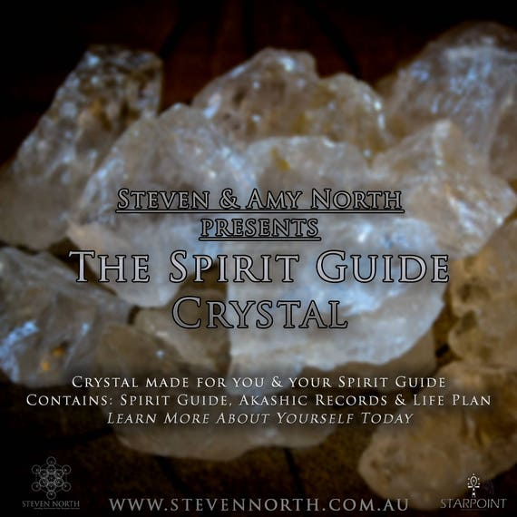 The Spirit Guide Crystal - Life Path, Spirit Guide - Coded Crystal Just for You