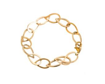 14KY  Gold Waterdrop Bracelet
