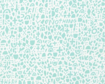 Credo Turquoise - Kindred by Cloud9 Fabrics Cotton Fabric Fat Quarter