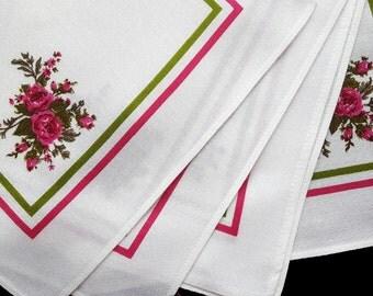 Vintage napkins set of five