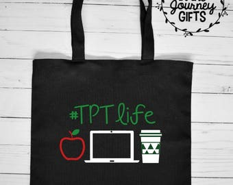 Teachers Pay Teachers, TPT, TPTLifeTeacher bag, teacher appreciation, teacher gifts, teaching gifts, teacher