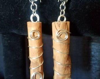 Cinnamon Stick Earrings