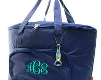 Monogrammed/Personalized Insulated Cooler Tote/Bag