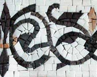 Floral Border Mosaic