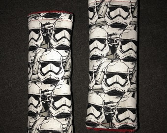 Star Wars stormtrooper car seat strap covers