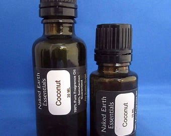 Coconut Fragrance Oil Naked Earth Essentials 15-30 ML