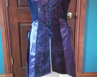 Patchwork elven travel dress - one size