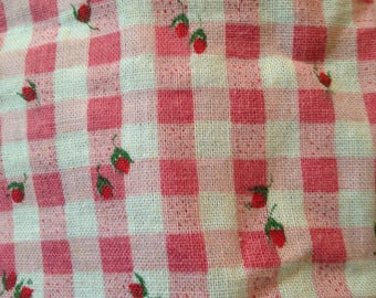 Old Course Cotton Print Fabric,Possible Sack Cloth