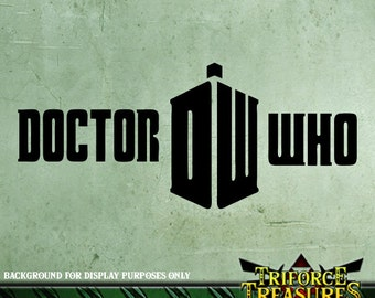 Doctor Who Sticker / Decal