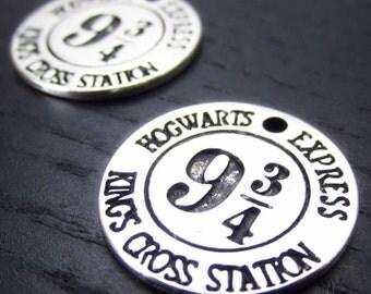 Platform 9 3/4 Charms - 2/5/10 Platform Nine And Three Quarters Pendants CC2018 - Exclusive Item!