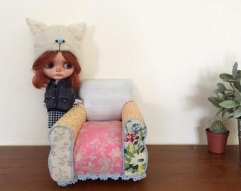Sofá para Blythe, Pullip ...