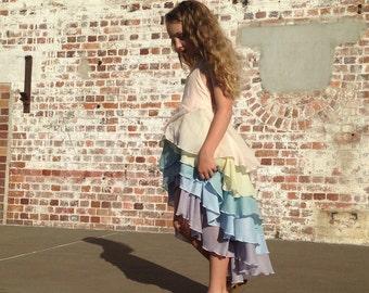 Handmade Girls Bespoke Flamenco Dress