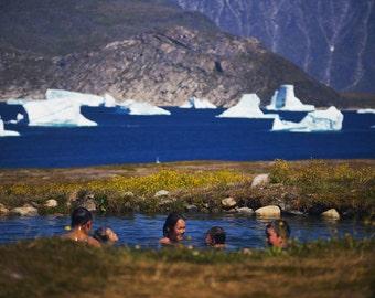 Landscape Photography, Fine Art, Travel Photography, Greenlandic Hotsprings
