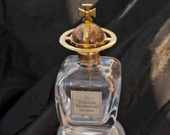Recycled Refillable Vivienne Westwood Glass perfume Scent Bottle