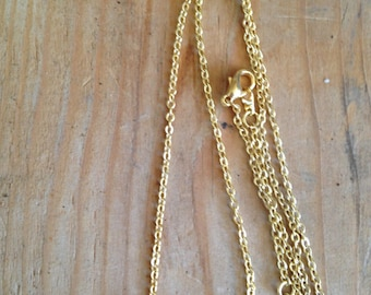Alyssa Necklace in Gold or Silver