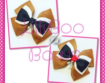 Handmade Chip or Dale Inspired Hair Bow